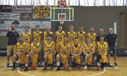 Esordio della Pezzini nel campionato di basket di serie C Silver