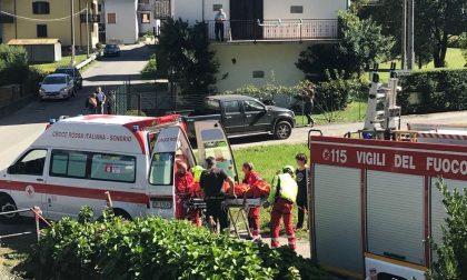 Cade in un prato dietro casa, pensionato grave in ospedale VIDEO