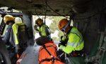 Escursionista infortunato in Val Tartano, interviene l'elisoccorso