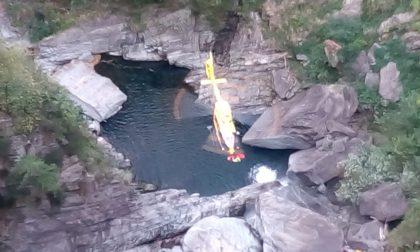 Incidente durante il canyoning, un ferito grave