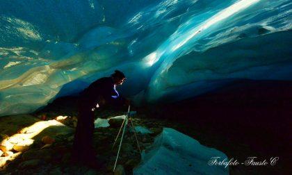 Scoperta grotta al Ghiacciaio dei Forni, presto svanirà VIDEO