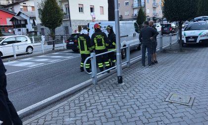 Incidente in viale Maloggia a Chiavenna