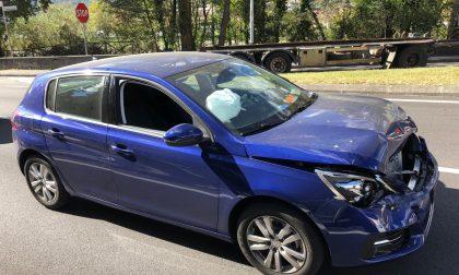 Incidente sulla 36 tra Chiavenna e Prata