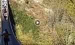 Vento a 100 km/h, paura sul Ponte nel Cielo GUARDA IL VIDEO