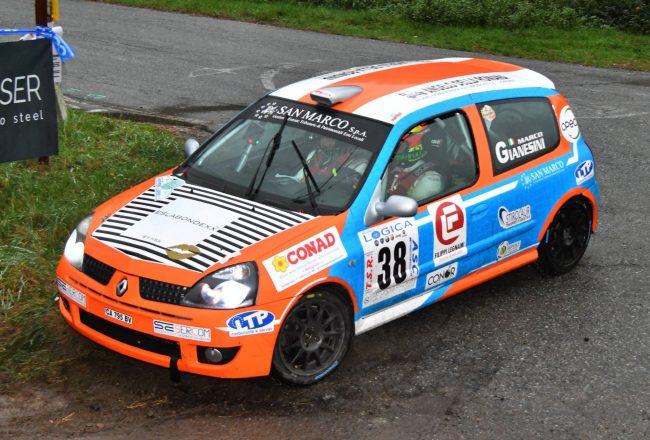 Gianesini mattatore al Rally del Gomitolo