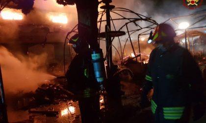 """Ristorante """"La Puntina"""" distrutto dalle fiamme FOTO"""