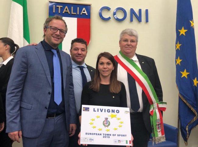 Livigno proclamata European Sport Town 2019