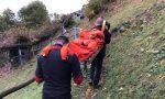 Scivola per il terreno bagnato, donna finisce in ospedale