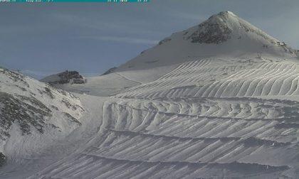 Il ghiacciaio dello Stelvio ha chiuso con una settimana di anticipo
