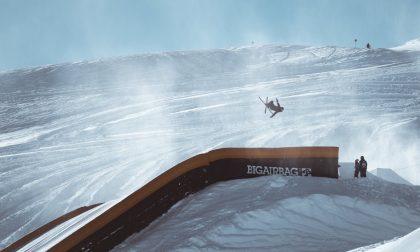 Lo snowpark aperto per la nazionale