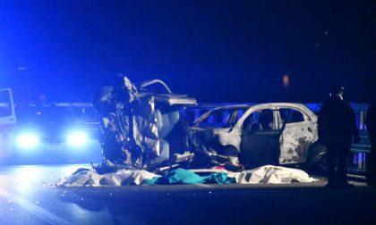 Tragedia sulla Statale, sei morti in un incidente