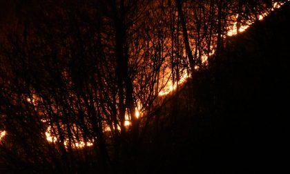 Torna la paura del fuoco sul Lago