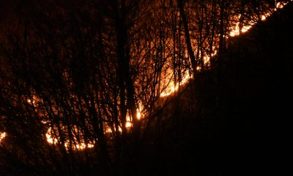 """Incendio nella Bassa Valtellina, è caccia al """"Piromane delle Alpi Orobie"""""""