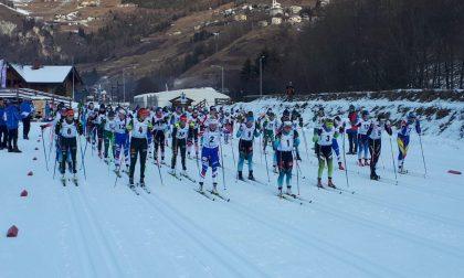 Manificat griffa la mass start di chiusura della tre giorni di Continental Cup