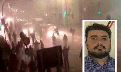 Guerriglia a San Siro arrestato anche un ultra di Abbiategrasso