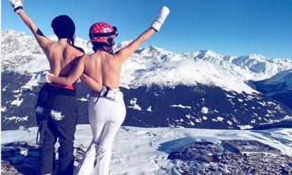 In topless sulle piste, la nuova tendenza in Alta Valle FOTO
