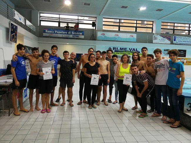 Campionati Studenteschi di nuoto a Sondrio FOTO e CLASSIFICHE