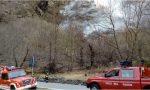 Nuovo incendio in Valchiavenna, due alpinisti imprigionati dalle fiamme VIDEO