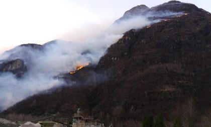 Allerta incendi in Valchiavenna e Lario