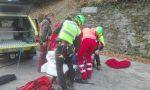 Malore mentre taglia la legna, 60enne grave in ospedale