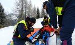 Incidenti sulle piste da sci, feriti 5 ragazzini