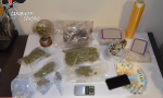 Marijuana e funghi allucinogeni, spacciatore in manette