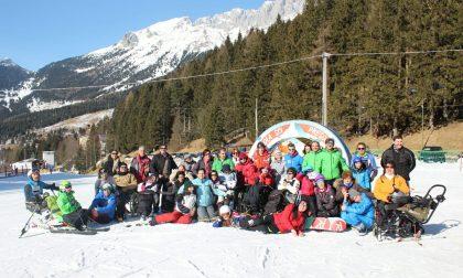 Il Gruppo della Gioia vive due giornate speciali sulla neve – FOTO