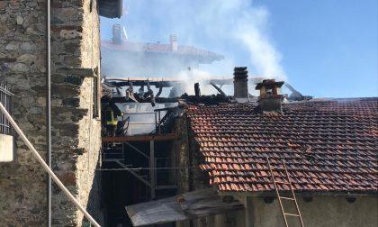Incendio in una casa di Sant'Anna, danni ingenti