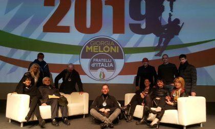 Anche dalla Valtellina all'evento con Giorgia Meloni