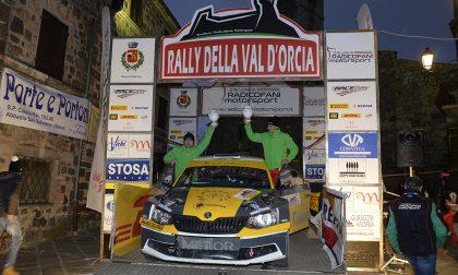Gianesini e Franzi nella top ten del Rally Val D'Orcia
