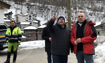 """Frana Val Masino: """"scongiurati danni maggiori"""""""
