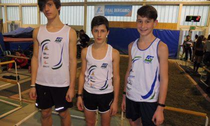 Promettono bene i cadetti dell'Olimpia Piateda a Bergamo