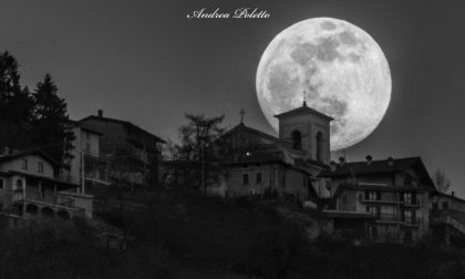 "Niente trucco: ""La Luna era davvero super"" FOTO"
