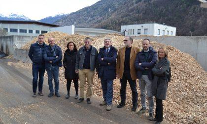 Cattaneo in visita a Tirano