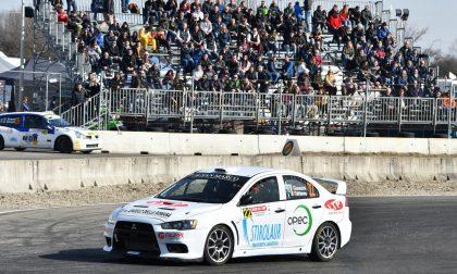 Gianesini stupisce al Motors Rally Show