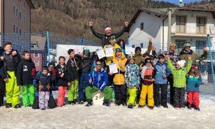Snowboard slopestyle, ad Aprica i campionati regionali