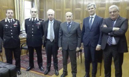 Il Generale di Corpo d'Armata in visita a Sondrio