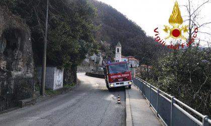 Si ribalta col trattore a Nesso, è grave FOTO