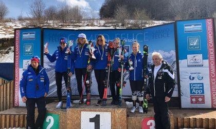 Ottimo inizio nei Campionati Italiani Giovani di Sci Alpino FOTO