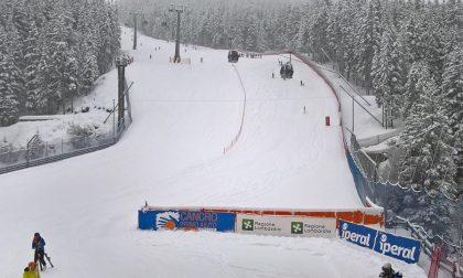 Sciata in pista senza problemi a Santa Caterina Valfurva