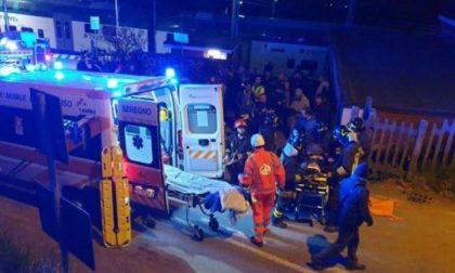 Scontro tra treni maxi emergenza in Brianza