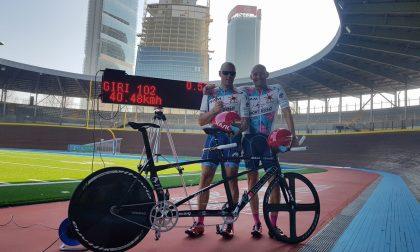 Team Mortirolo Lanzarote: 40,48 KM per l'ora di Pierre e Cecio