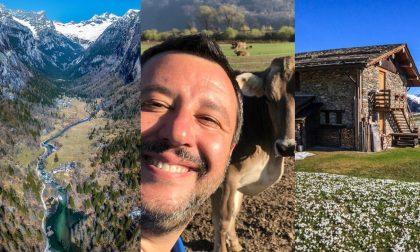 Valtellina sui social, la Val di Mello batte Salvini