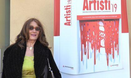 "Anna Galanga nell'annuario ""Artisti"""