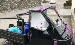 Ape contro auto, due feriti gravi in ospedale