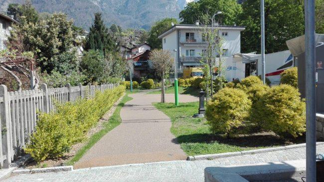 Parco giochi inclusivo a Chiavenna, presto sarà realtà