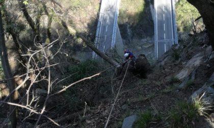 Riaperta al traffico la carreggiata nord della statale 36 tra Bellano e Colico