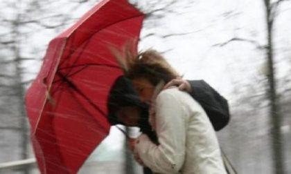 Pioggia e vento forte: scatta l'allerta in Valtellina PREVISIONI METEO
