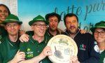 Adunata Alpini: Salvini in posa con il formaggio San Marco