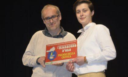 Francesca Della Bitta premio della critica al Microfono d'oro